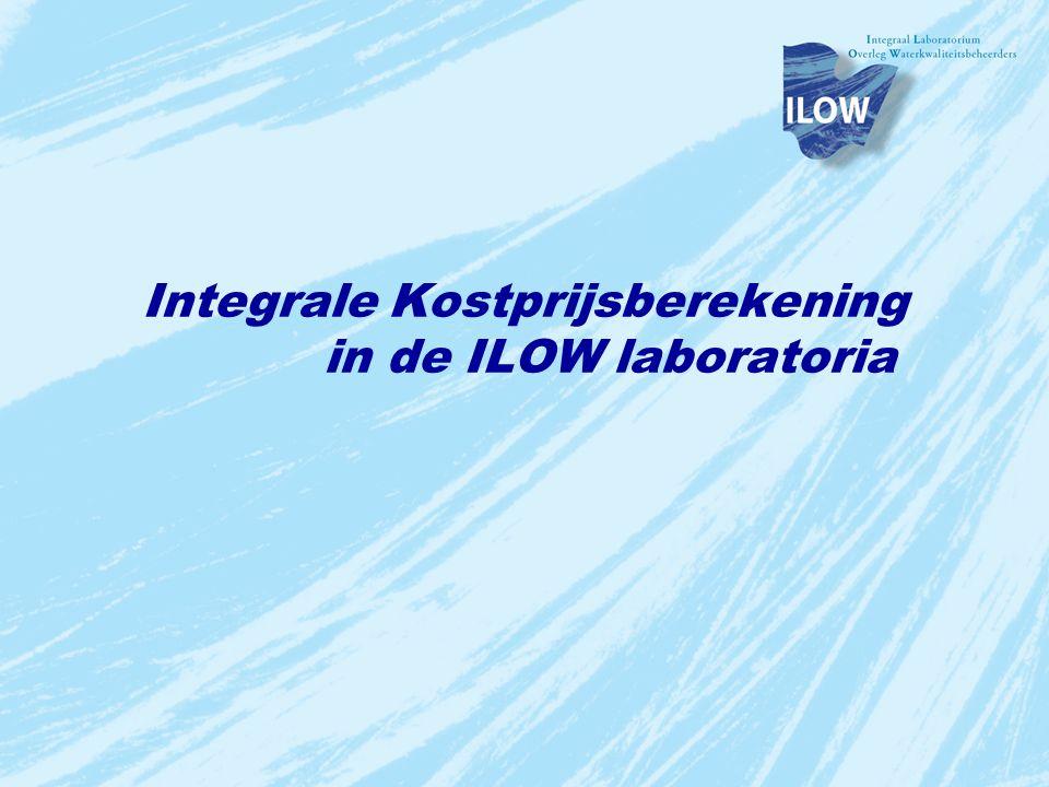 Integrale Kostprijsberekening in de ILOW laboratoria
