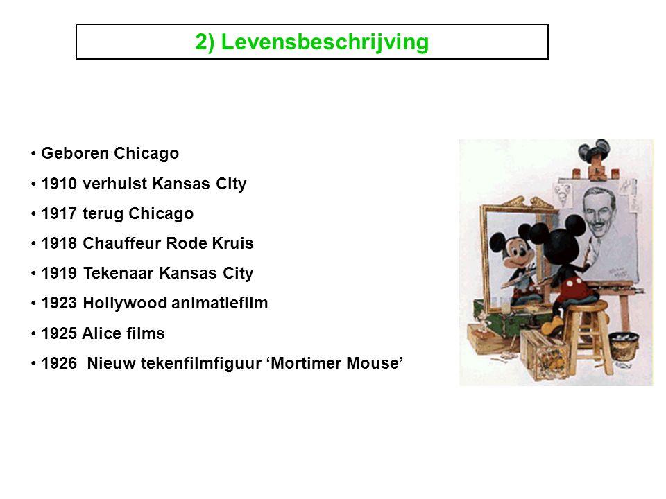 2) Levensbeschrijving Geboren Chicago 1910 verhuist Kansas City