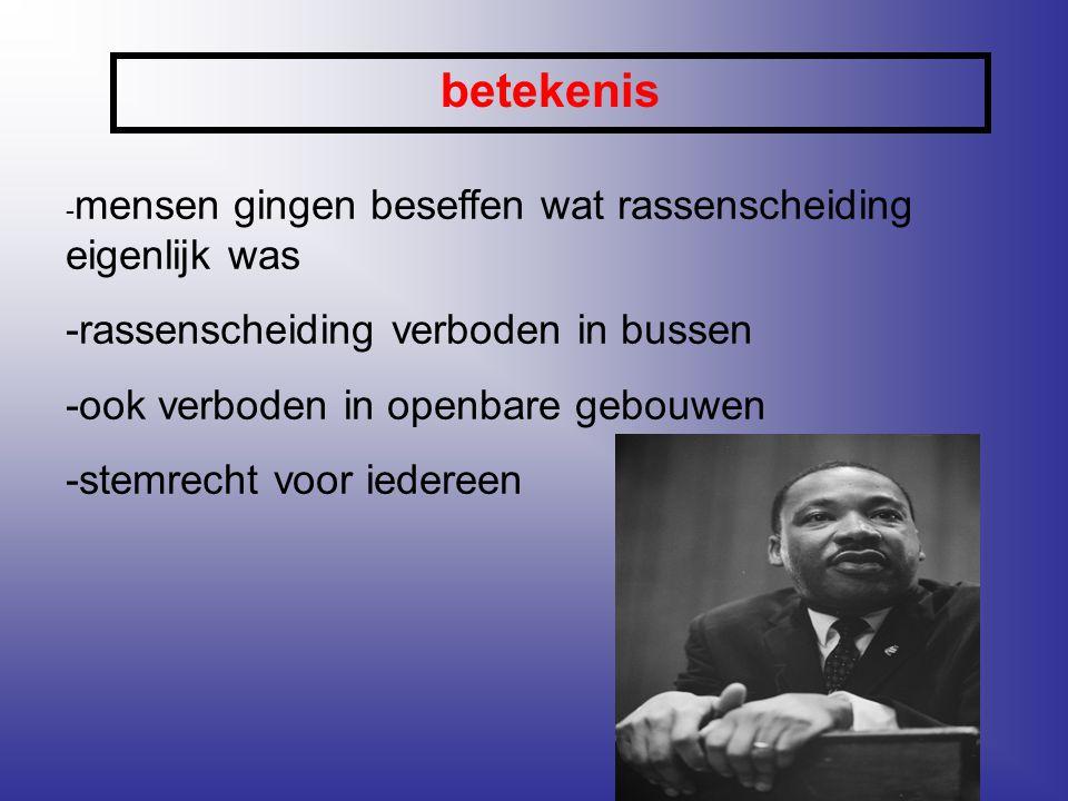betekenis -rassenscheiding verboden in bussen
