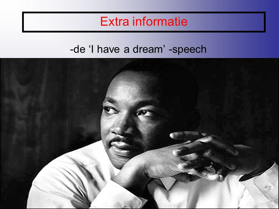 -de 'I have a dream' -speech