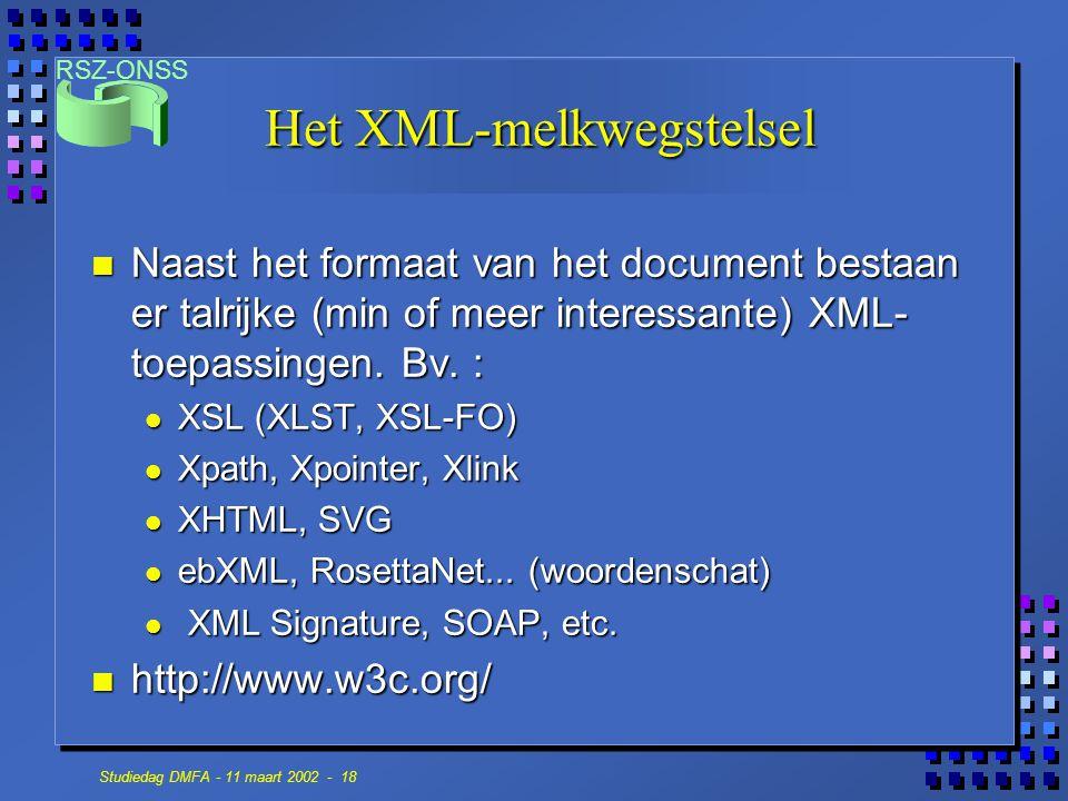 Het XML-melkwegstelsel