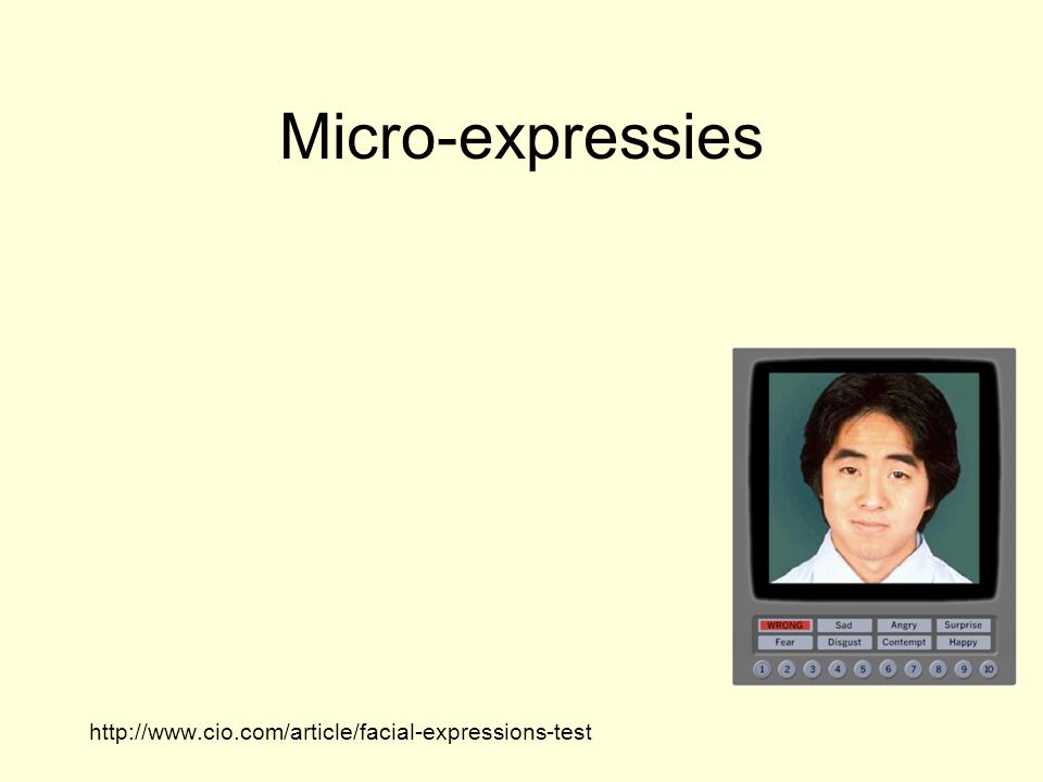 Micro-expressies Paul Ekman: