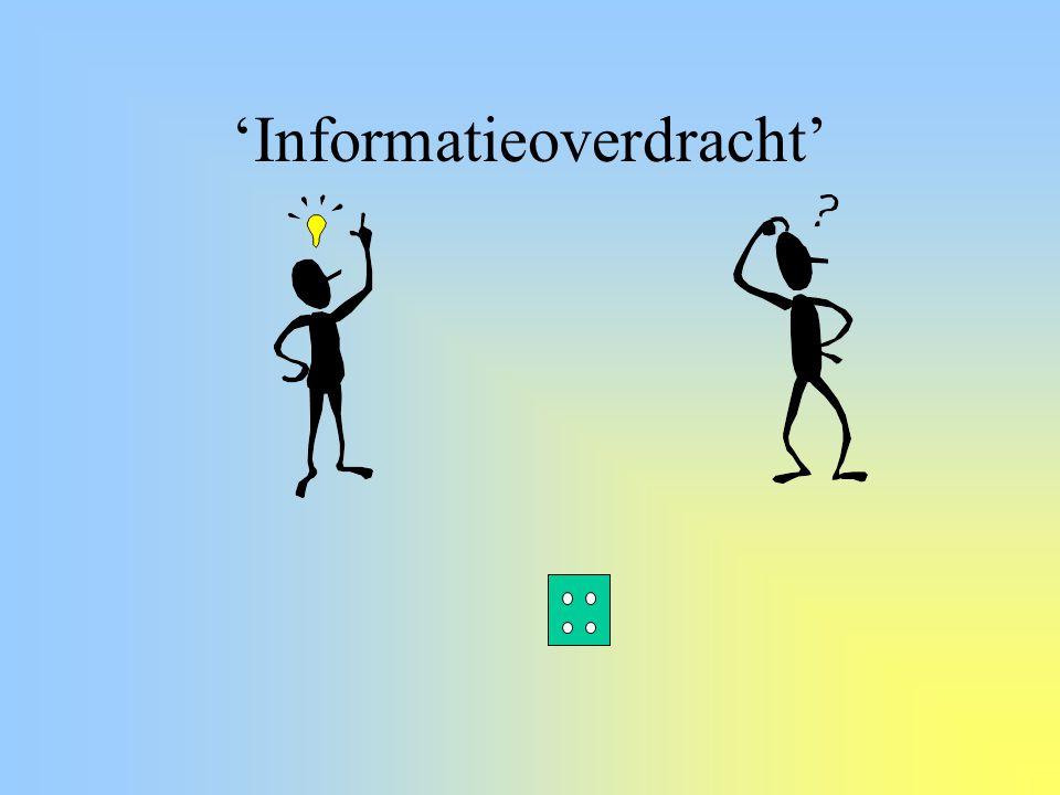 'Informatieoverdracht'