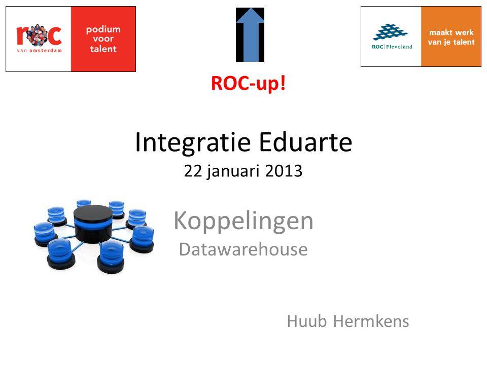 Integratie Eduarte 22 januari 2013
