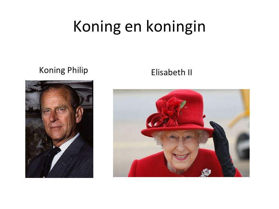 Koning en koningin Koning Philip Elisabeth II