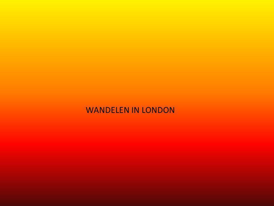 WANDELEN IN LONDON