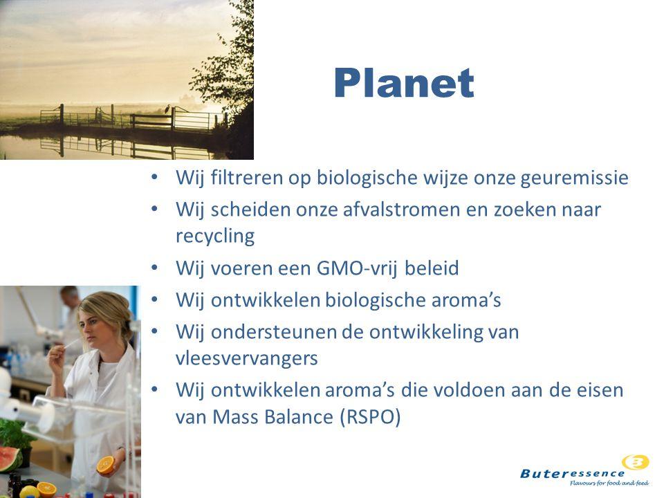 Planet Wij filtreren op biologische wijze onze geuremissie