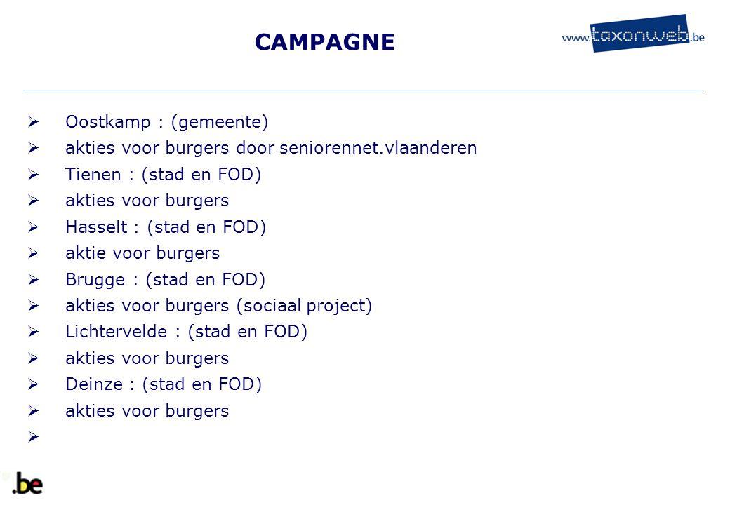 CAMPAGNE Oostkamp : (gemeente)
