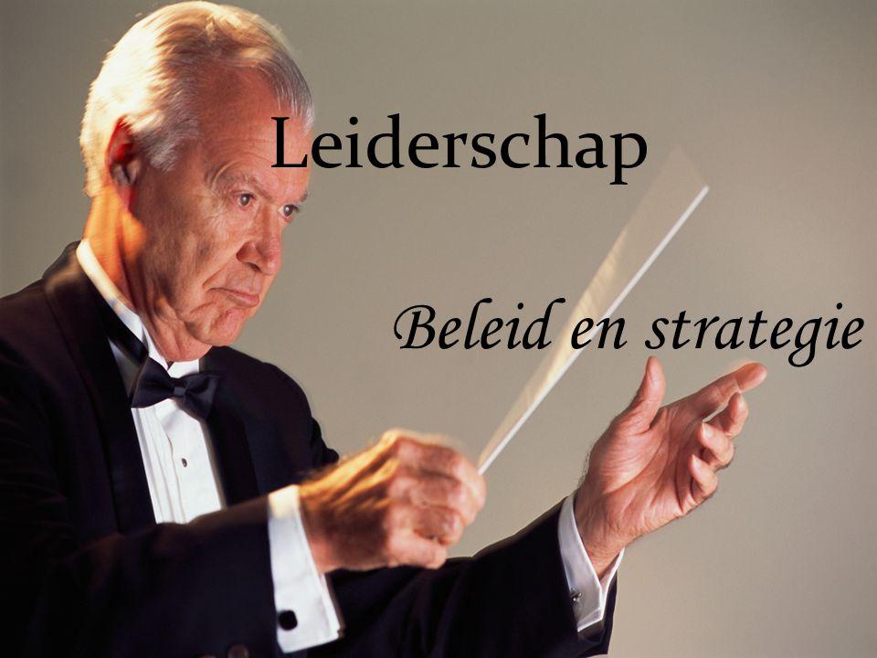 Leiderschap Beleid en strategie