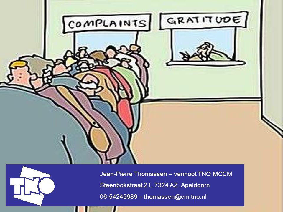 Jean-Pierre Thomassen – vennoot TNO MCCM
