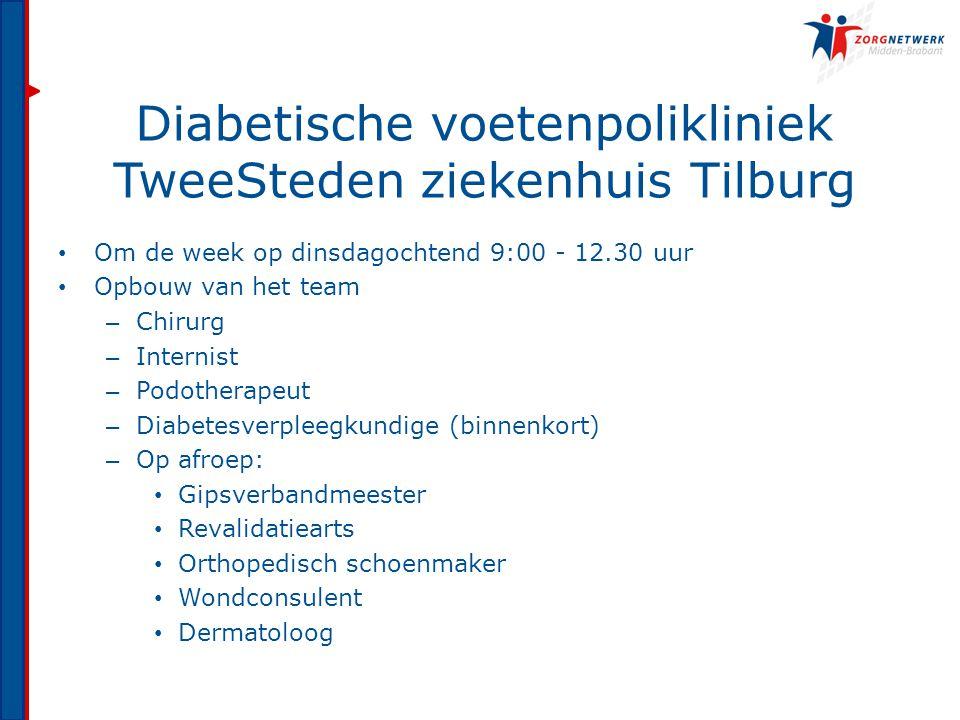 Diabetische voetenpolikliniek TweeSteden ziekenhuis Tilburg