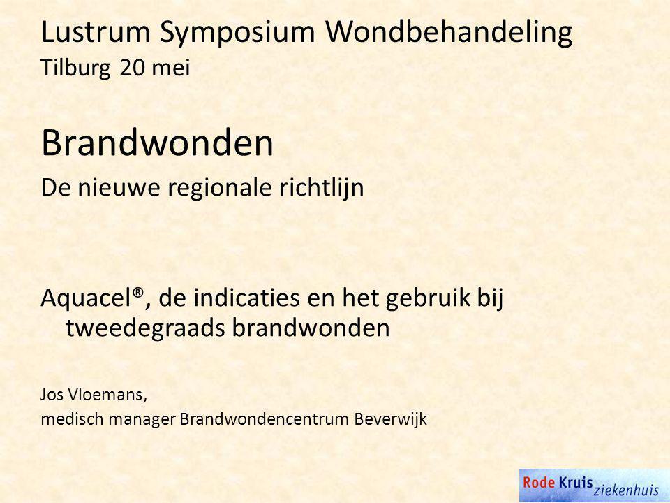 Lustrum Symposium Wondbehandeling Tilburg 20 mei