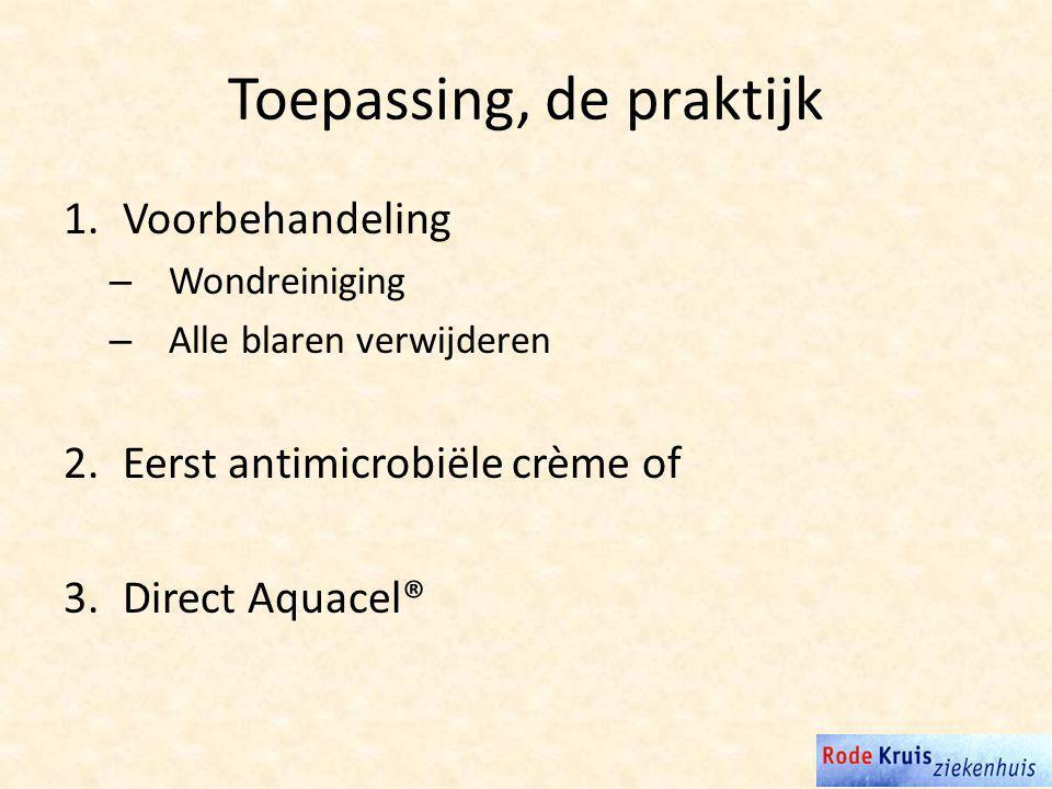 Toepassing, de praktijk