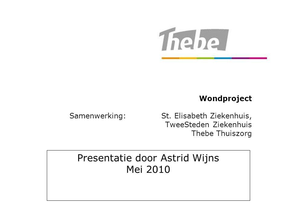 Presentatie door Astrid Wijns