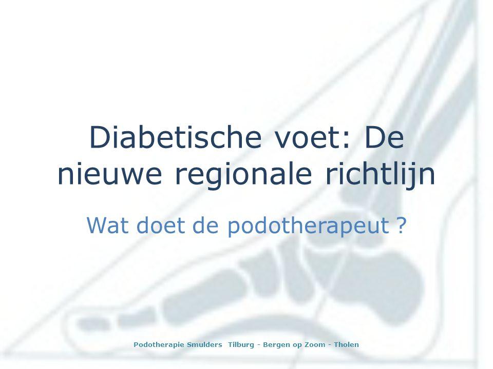 Diabetische voet: De nieuwe regionale richtlijn