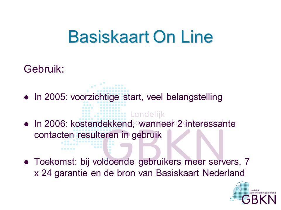 Basiskaart On Line Gebruik: