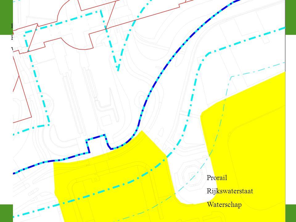 Prorail Rijkswaterstaat Waterschap Prorail Rijkswaterstaat Waterschap