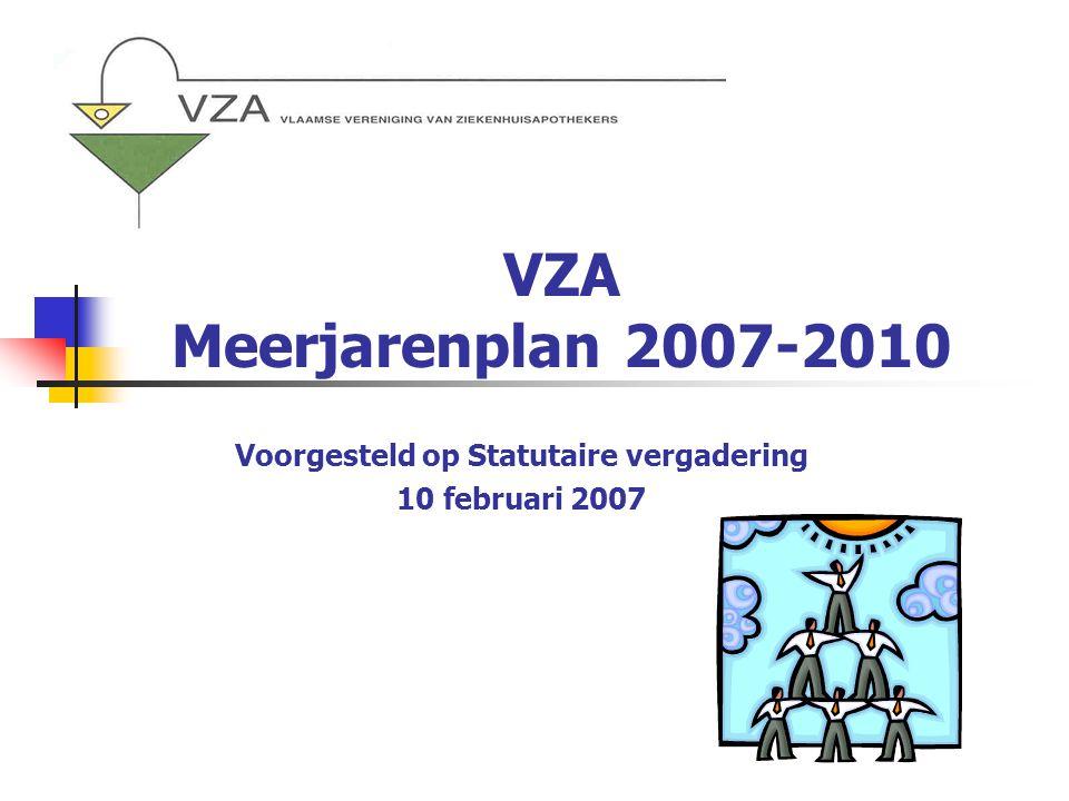 Voorgesteld op Statutaire vergadering 10 februari 2007
