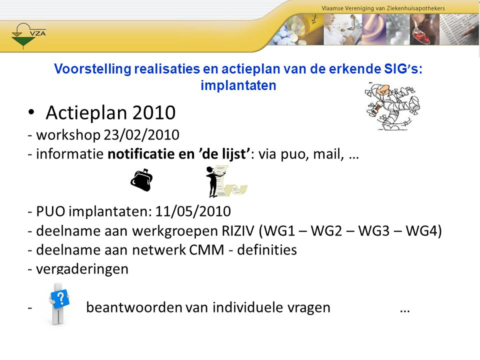 Actieplan 2010 - workshop 23/02/2010