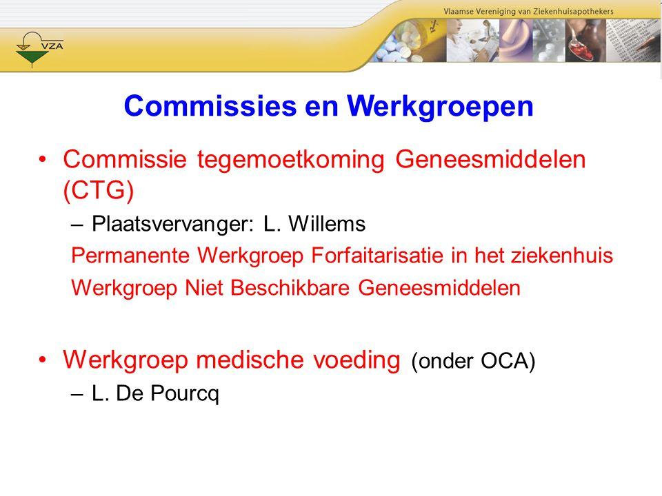 Commissies en Werkgroepen