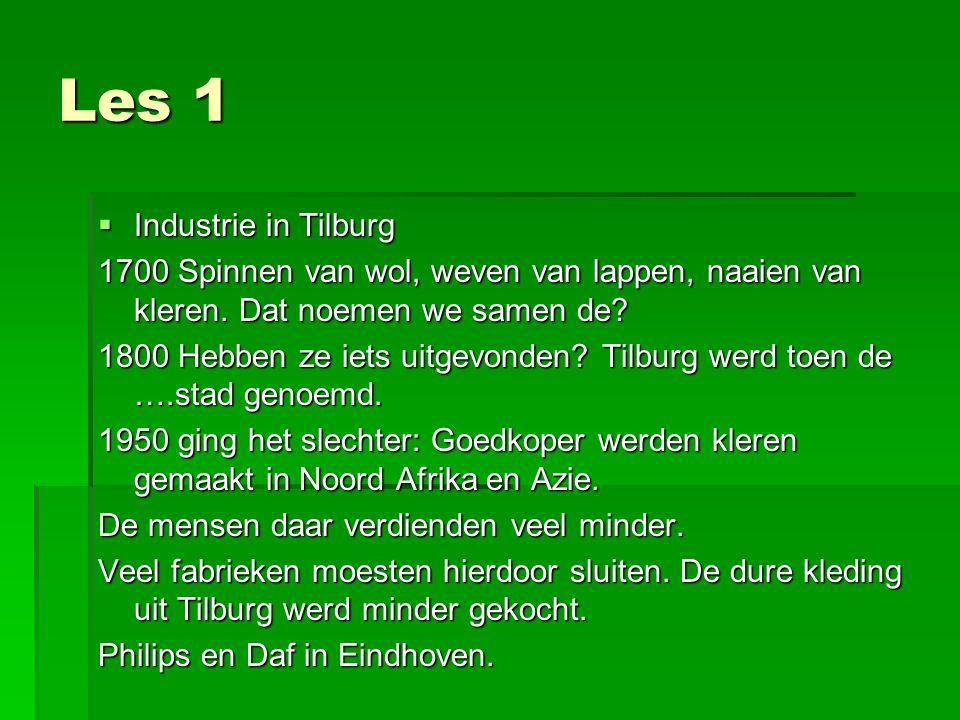 Les 1 Industrie in Tilburg