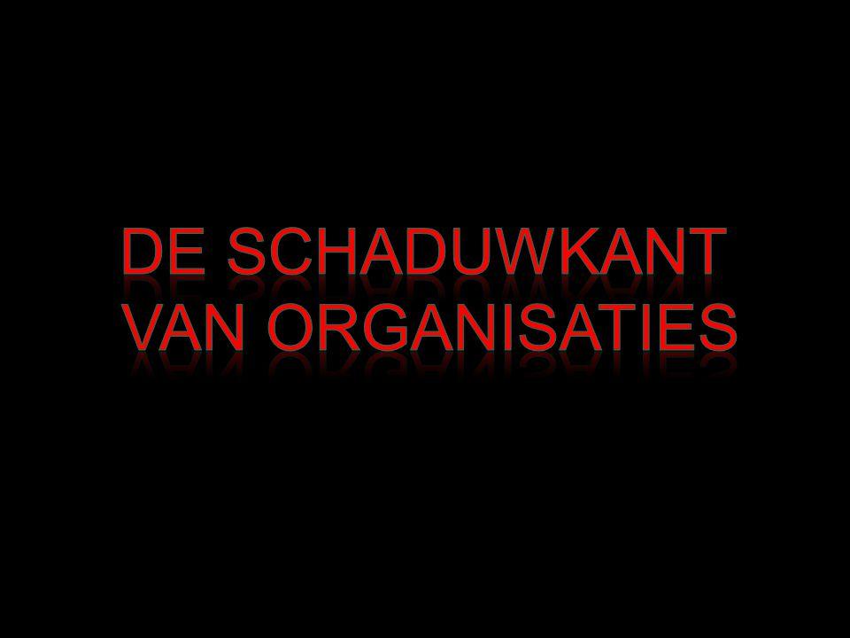 De Schaduwkant van Organisaties
