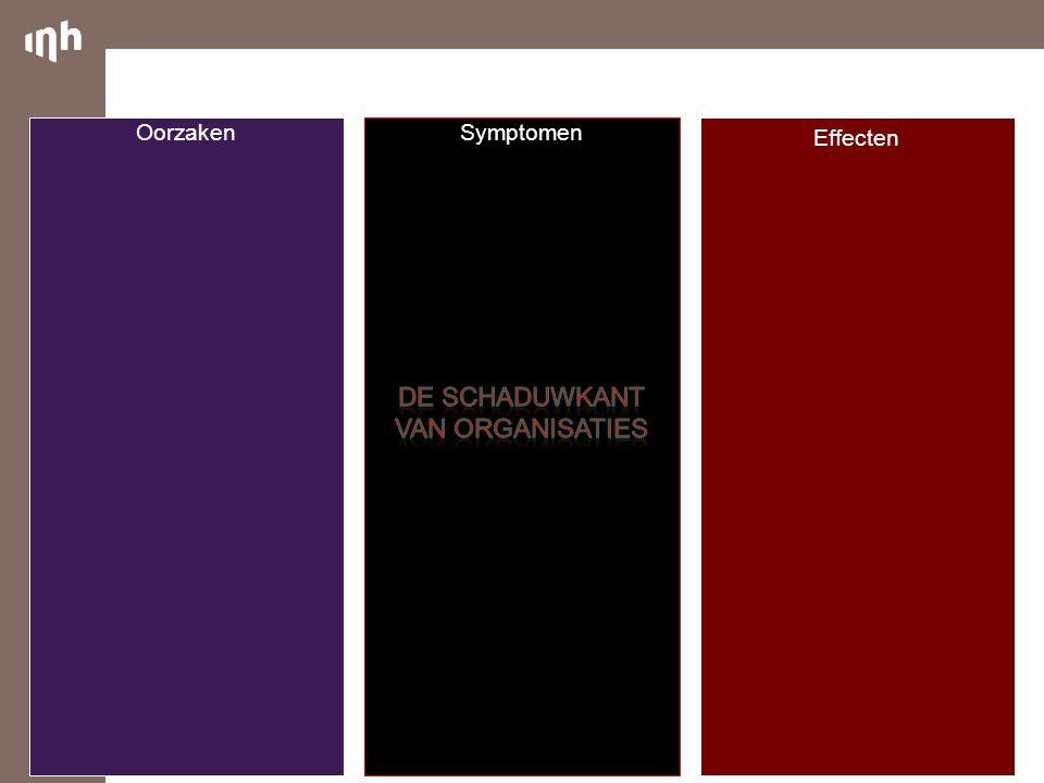 De Schaduwkant van Organisaties Oorzaken Symptomen Effecten