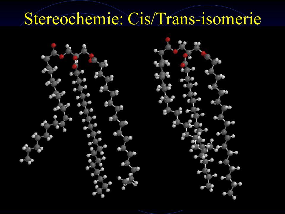 Stereochemie: Cis/Trans-isomerie