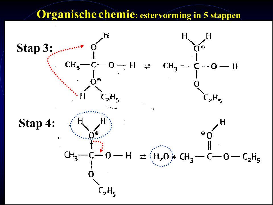 Organische chemie: estervorming in 5 stappen