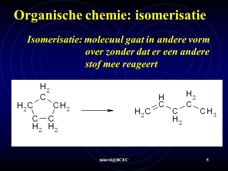 Organische chemie: isomerisatie