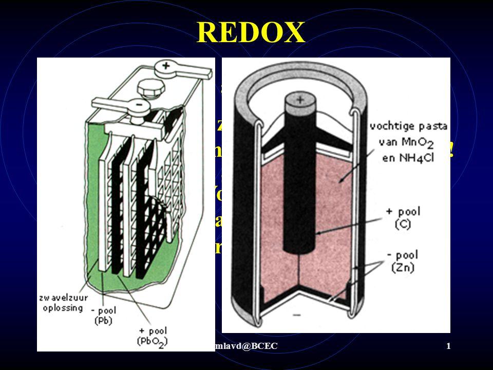 REDOX Wat is redox (ook alweer)