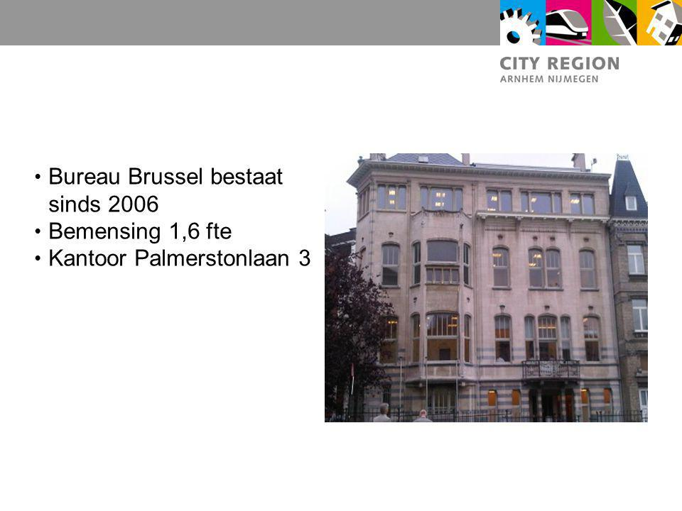 Bureau Brussel bestaat sinds 2006