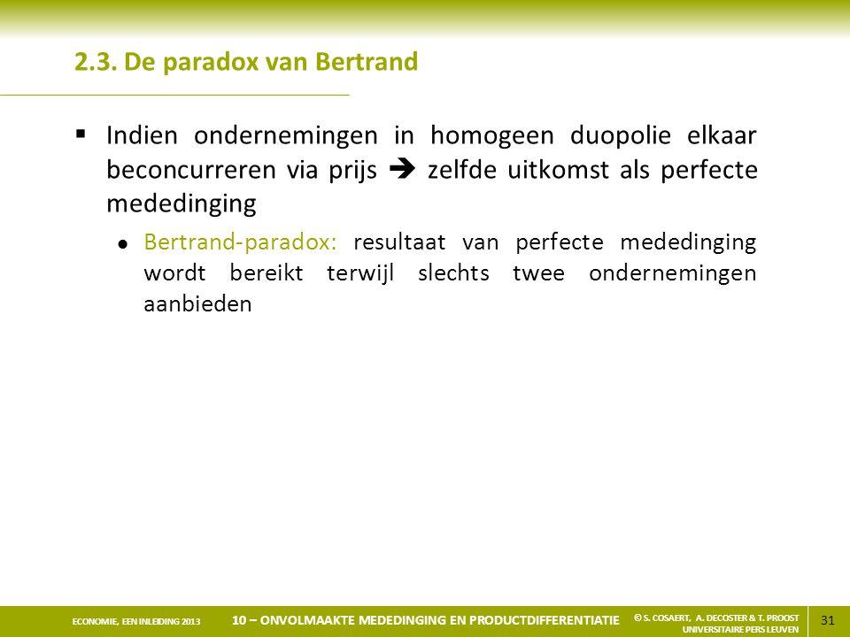 2.3. De paradox van Bertrand