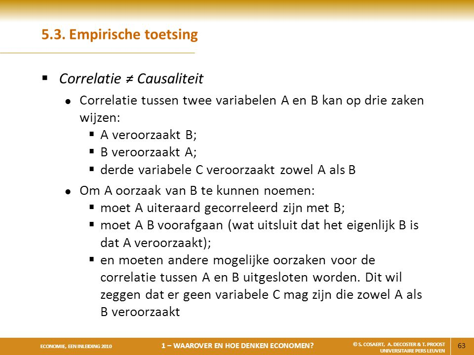 Correlatie ≠ Causaliteit