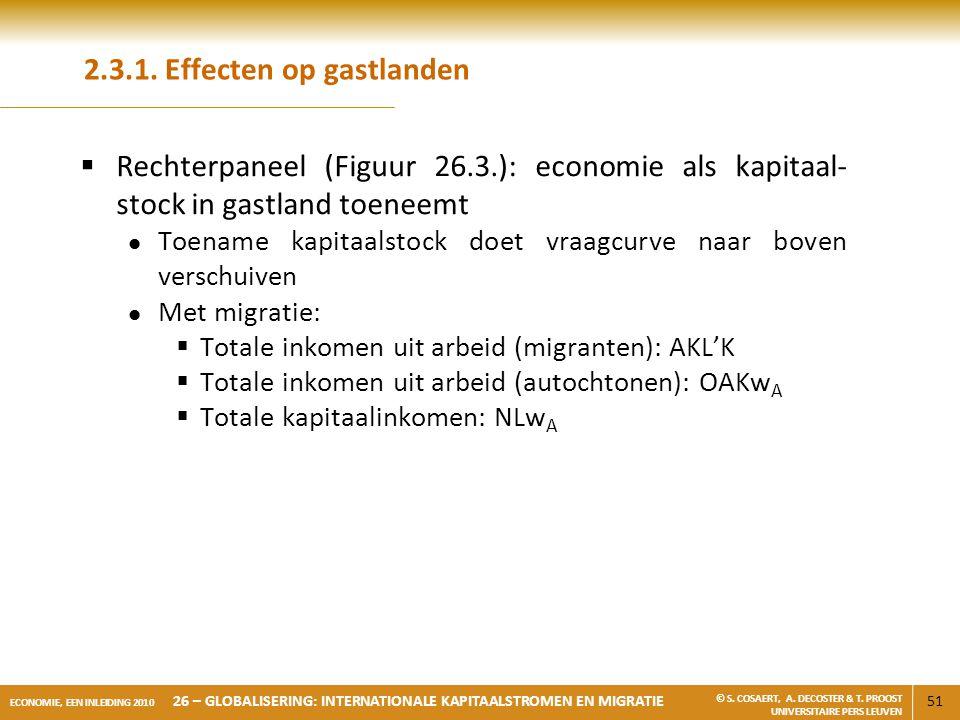 2.3.1. Effecten op gastlanden