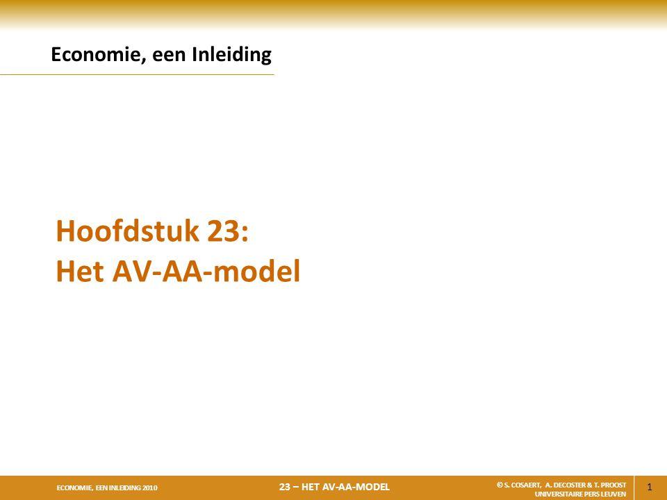 Hoofdstuk 23: Het AV-AA-model