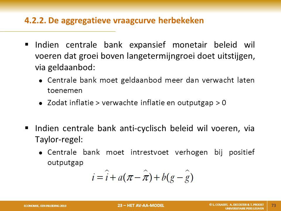 4.2.2. De aggregatieve vraagcurve herbekeken