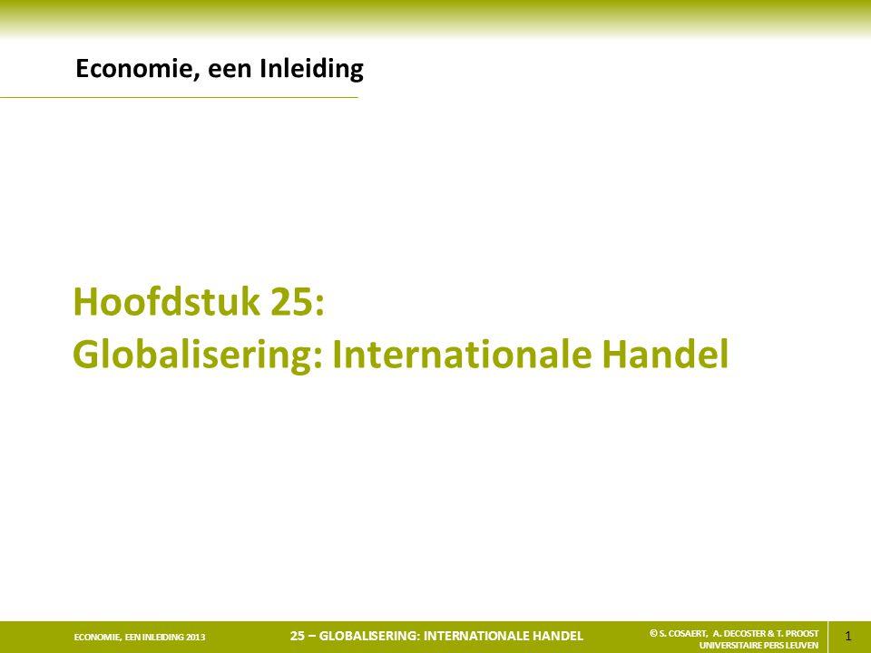 Hoofdstuk 25: Globalisering: Internationale Handel