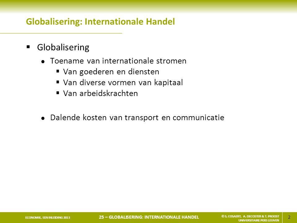Globalisering: Internationale Handel