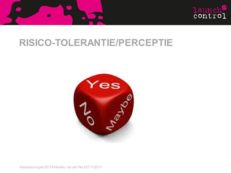 RISICO-TOLERANTIE/PERCEPTIE