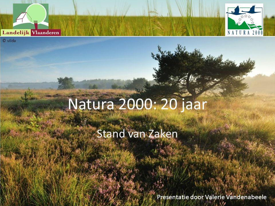 Natura 2000: 20 jaar Stand van Zaken