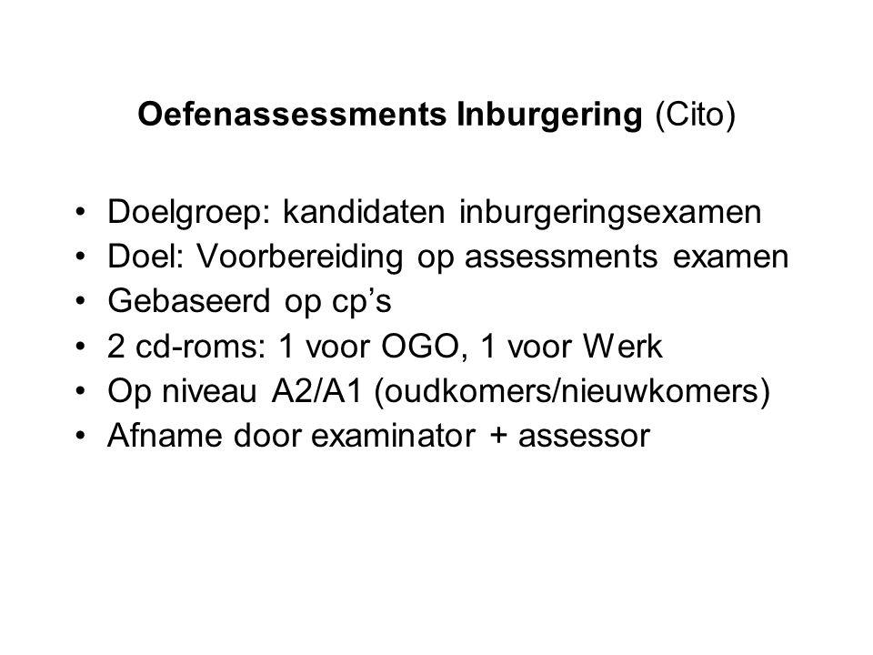 Oefenassessments Inburgering (Cito)