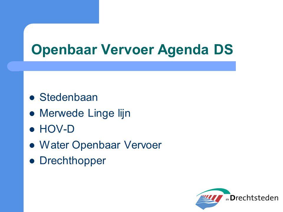 Openbaar Vervoer Agenda DS