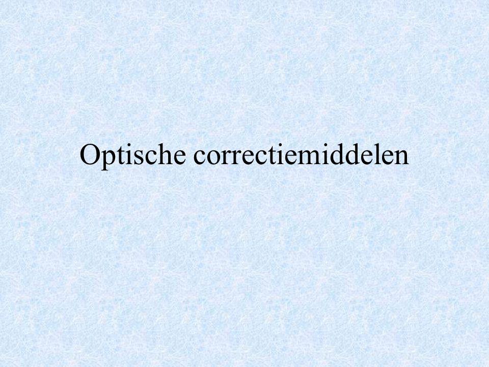 Optische correctiemiddelen