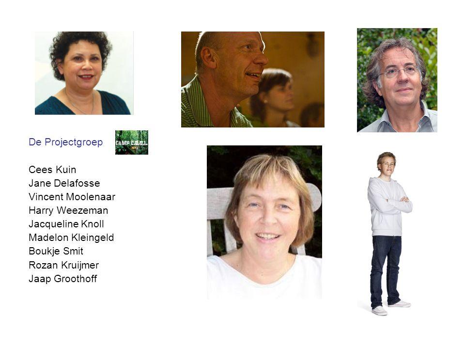 De Projectgroep Cees Kuin. Jane Delafosse. Vincent Moolenaar. Harry Weezeman. Jacqueline Knoll.