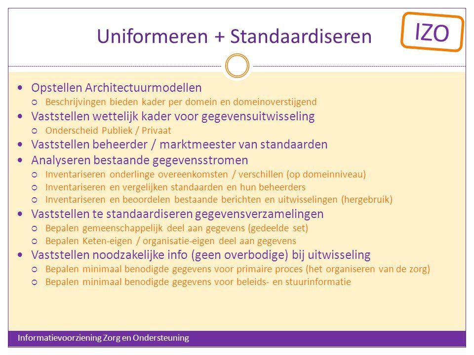 Uniformeren + Standaardiseren