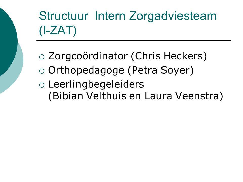 Structuur Intern Zorgadviesteam (I-ZAT)