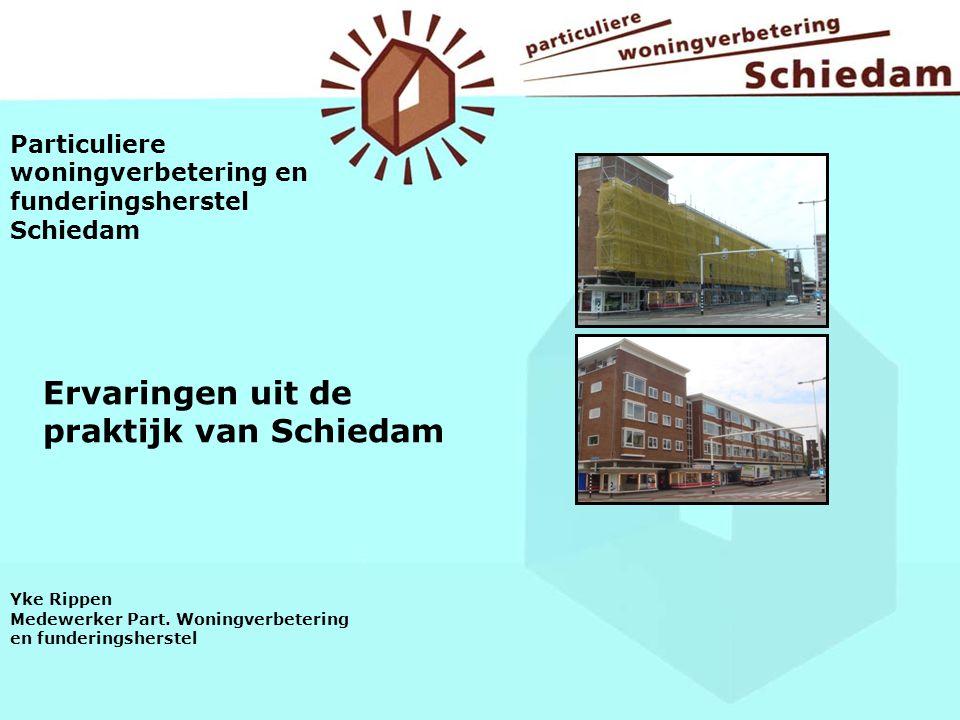 Ervaringen uit de praktijk van Schiedam