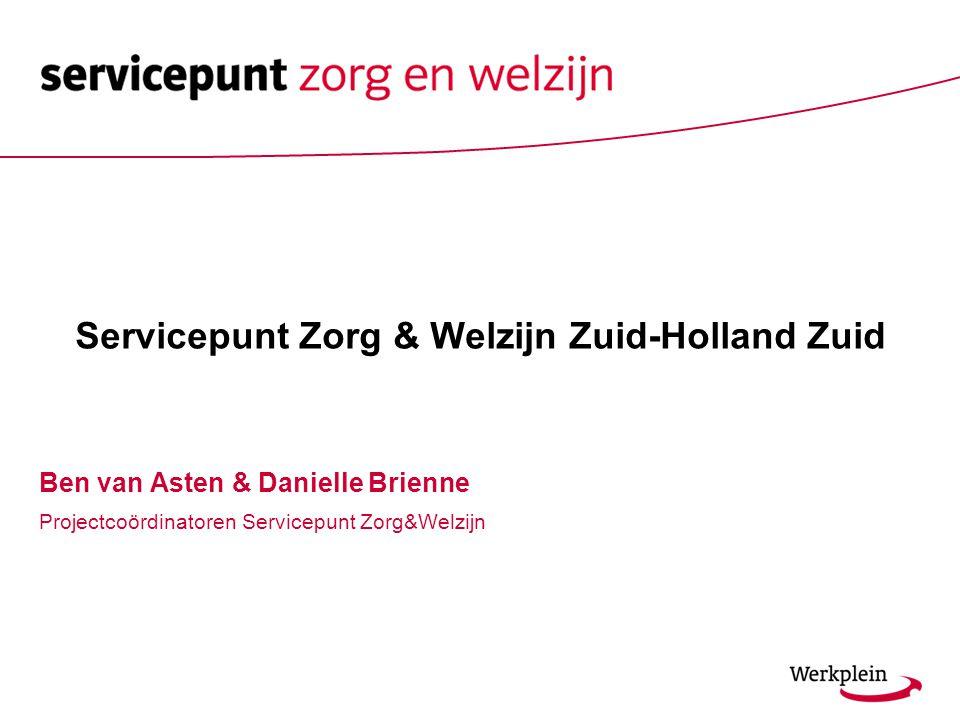 Servicepunt Zorg & Welzijn Zuid-Holland Zuid