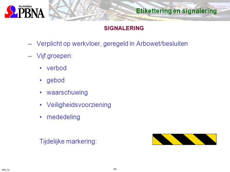 Etikettering en signalering